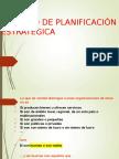 Proceso de Planeación Estrategica