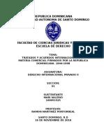 Tratados Comerciales de La Republica Dominicana