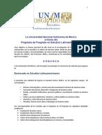 Convocatoria Doc Extensa 2018-1