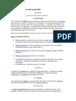 Área Expresión Oral y Escrita