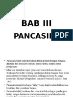 Bab III Pancasila