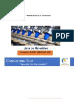 Basic User SAP ERP - Lista de Materiales.pdf
