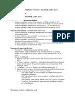 Alteraciones Del Potasio y Acidobase