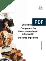 Solucionario Clase 4 Comprendo los textos que entregan información 2016.pdf