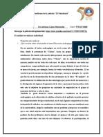 Análisis de La Película EL ESTUDIANTE