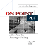 Strategic Selling Primer and Notes1