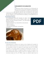 Procesamiento de Arequipe