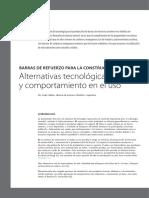 Barras de refuerzo para la construcción - Alternativas tecnológicas y comportamiento en uso.pdf