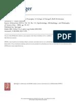 Theoretical Terms and Bridge Principles- A Critique of Hempel's (Self-)Criticisms