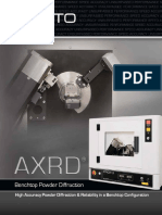 AXRD Benchtop X-Ray Diffraction