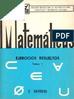 Matematicas Ejercicios Resueltos Tomo1