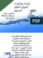 مؤسسة المياه الجزائرية.ppt