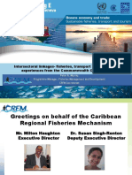 Intersectoral Linkages- Fisheries, Transport and Tourism - Experiences From the Commonwealth Caribbean - FINAL (Revised 12 05 2016)