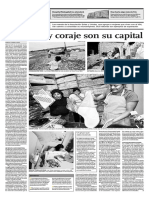 Fortaleza y coraje son su capital