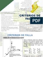 Criterios de Falla