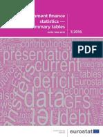 Government Financial Statistics 2016