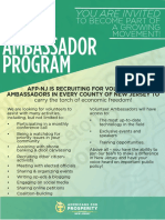AFP-NJ Ambassador Program