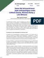 El Problema Del Etnocentrismo e - Aguilera Portales, Rafael