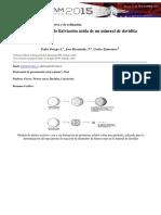 Estudio Cinético de La Lixiviacion Ácida de Un Mineral de Davidita