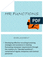 Hr Functions
