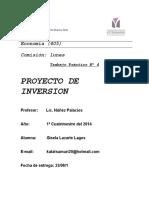 Proyecto de Inversion 2