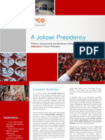 Analysis a Jokowi Presidency in Indonesia APCO