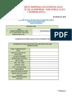 Draft de Coordenadas Externa e Internas