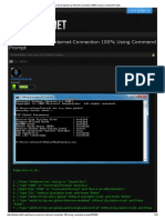 How to Speed Up Internet Connection 100% Using Command Prompt