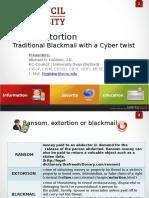 Cyber Extorsion