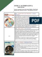 Biblioteca Alternativa - Catalogo (Ita Libro)