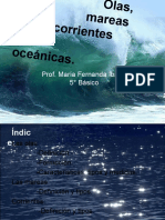 Olas, Mareas y Corrientes Oceanicas