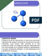 Ozonizacion, Radiación Uv, Cloración