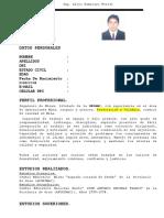Curriculum Vitae Alejo - Para Lima