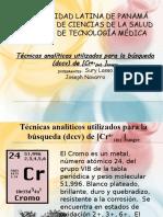 Tecnicas Analiticas Del Cromo