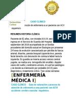 Enermeria Medica 1 Aciente Acv