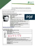 Equipos de Protección Para Mediciones de Amianto