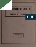 Carlos R. Erdman - El Espiritu de Cristo.pdf