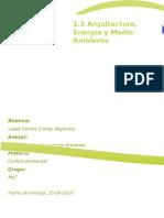 1.3 Arquitectura, Energia y Medio Ambiente