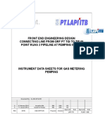 CL INS DTS 016 Cover Gas Metering