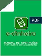 Manual Para Uso Do E-DINHEIRO No Comercio (Versão 2)