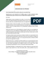06-11-16 Hace Realidad Maloro Acosta Petición Añeja de La Comunidad Triqui. C-87116