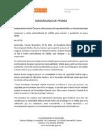 07-11-16 Acepta Maloro Acosta Renunica Del Comisario de Seguridad Pública y Tránsito Municipal. C-87716