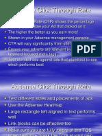 Adsense Click Through Rate