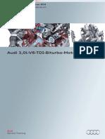 SSP604 Audi 3,0l V6 TDI Biturbo Motor De