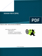 Module IX. DFSS - Part II - B. Design for X (DFX)
