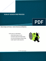 Module IX. DFSS - Part II - C. Robust Design and Process [Recovered]