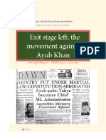 Ayub Khan - Three Articles - DAWN, Pakistan