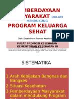 Kapus Promkes -PM Dlm Mendukung Prog KS, Royal Kuningan