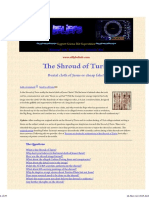 The Shroud of Turin Scam