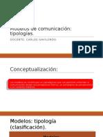 1.1.Modelos de Comunicación